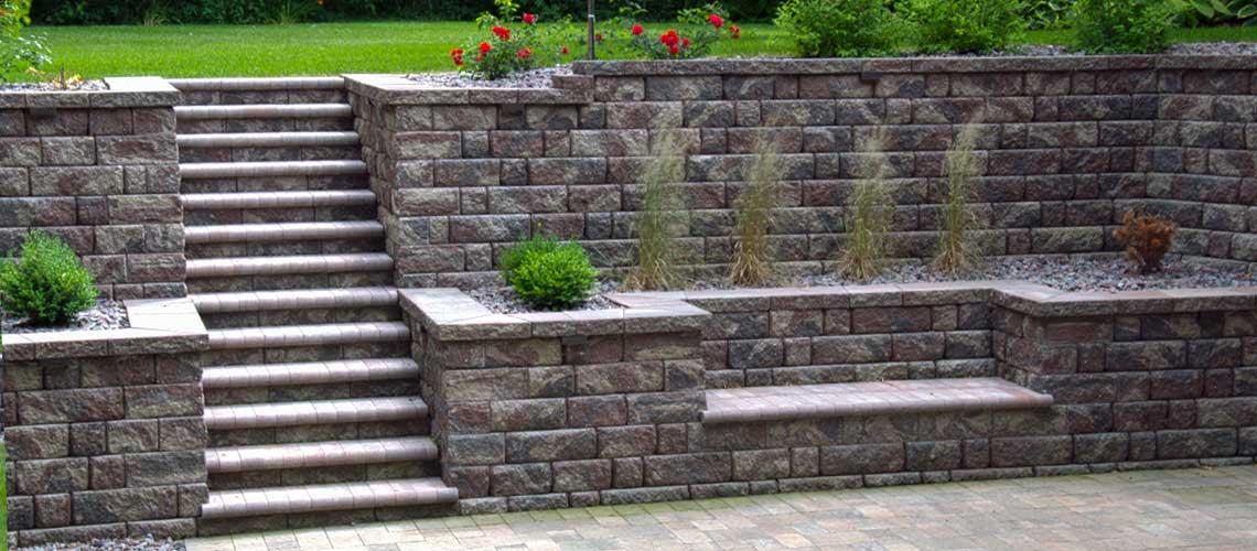 Modular Block Retaining Walls